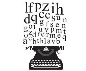 Vinilo decorativo Máquina de escribir