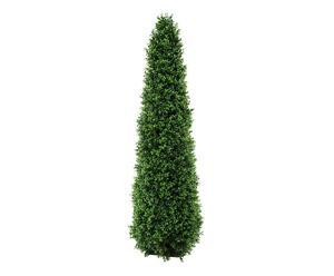 Arbusto artificial en forma de cono