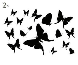 SET de 2 vinilos adhesivos Mariposas
