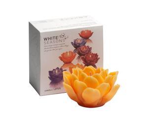 Vela de cera Lotus – Mandarina