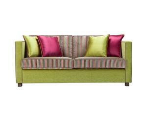 Sofá de 3 plazas Stripes – verde