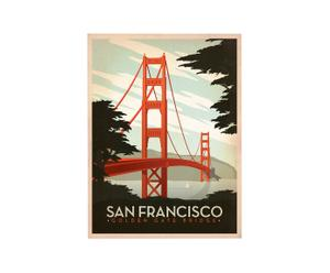 Cartel Golden Gate, de Joel Anderson – 42x60