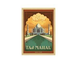 Cartel Taj Mahal, de Joel Anderson – 42x60