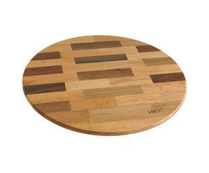 Bandeja giratoria en madera