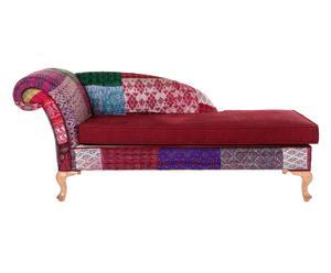 Chaise lounge Josephine - borgoña
