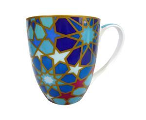 Taza de porcelana Moucharabieh