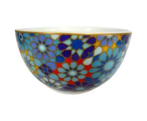 Bol de porcelana Moucharabieh