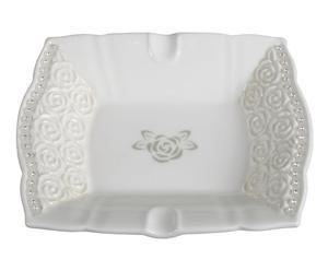 Cenicero de porcelana - blanco