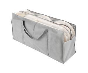 Bolsa de almacenamiento de fibra sintética - gris