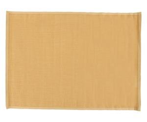 Alfombra de sisal con borde de algodón, beige - 160x230