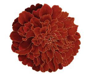 Alfombra de lana de Nueva Zelanda Flower - Ø150