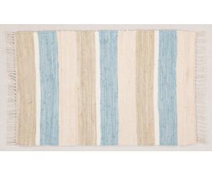 Alfombra Formentera, azul - 140x200