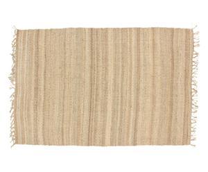 Alfombra de yute, natural - 183x275