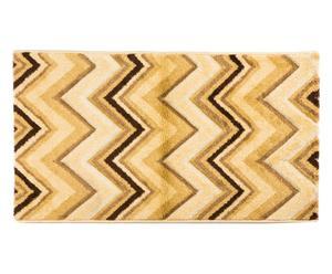 Alfombra Zigzag, beige - 200x290