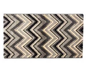 Alfombra Zigzag, gris - 200x290