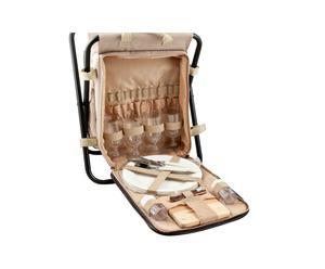 Mochila de picnic con silla