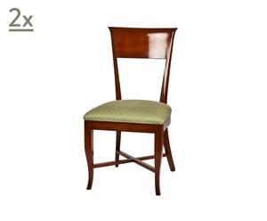 Set de 2 sillas inglesas