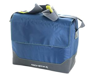 Bolsa térmica de tela portobello, azul - 60x44x40