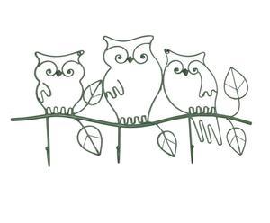Perchero Búhos - verde