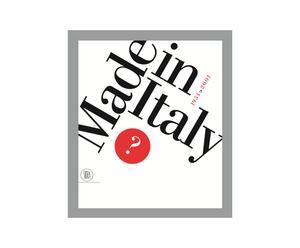 Libro Made in Italy, 1951-2001 (Italiano)