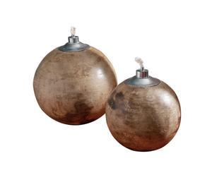 Juego de 2 lámparas de aceite de cerámica Sheng