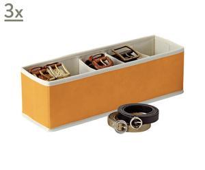 Set de 3 cajas portacinturones Easybox