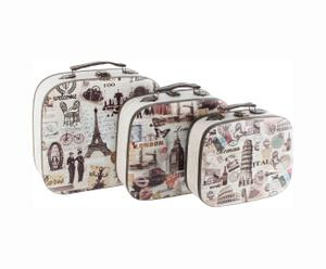 Set de 3 maletas Europa