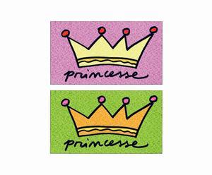 Felpudo de fibra de coco Princess
