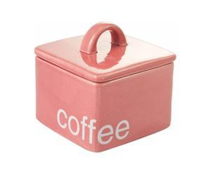 Caja para almacenar café