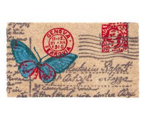 Felpudo De Coco Y PVC Postal - 40x70