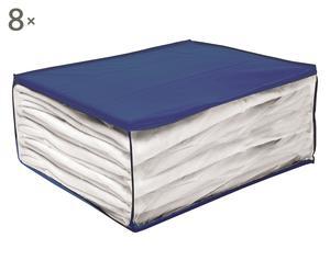 Set de 8 cajas de PEVA I – azul