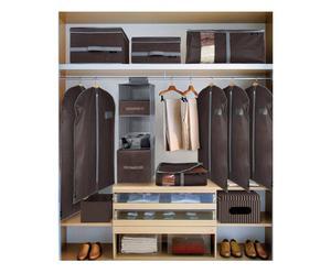 Set de 10 piezas de guardarropa – marrón y gris