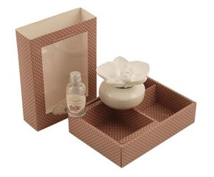 Set de ambientador con difusor y frasquito de perfume – Vainilla