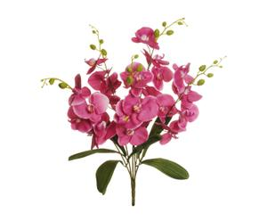 Ramo con orquídeas phalaenopsis artificiales - fucsia