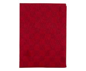 Paño de cocina en algodón - rojo