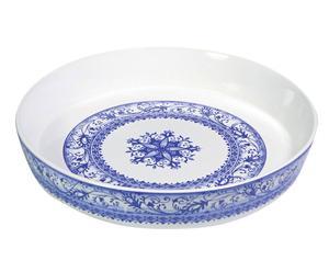 Bandeja para horno redonda de cerámica Marina