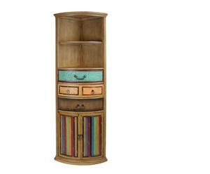 Mueble esquinero de madera Street