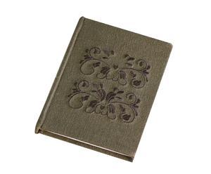 Libreta para notas forrada en lino con bordados Endora - 11x14