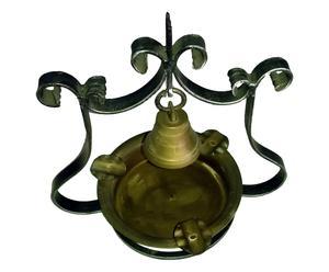 Cenicero en hierro forjado con campana
