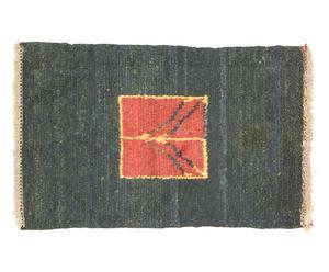 Alfombra persa en lana y algodón Lodoum – 137x205