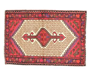 Alfombra persa en lana y algodón Chakrika - 140x190