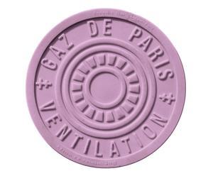 Salvamanteles termoplástico París, lila – Ø17