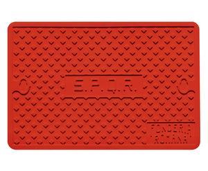 Salvamanteles termoplástico Roma, rojo – 30x45