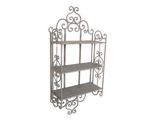 Estantería de pared en hierro Romance - 45x110x20