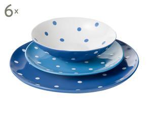 Vajilla en cerámica Polka Dot