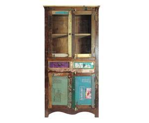 Vitrina en madera reciclada Vintage