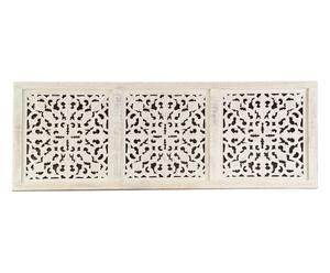 Cabecero para cama de matrimonio de madera de acacia Agadir