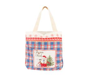 Bolsa de algodón Navidad