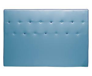 Cabecero de ecopiel Lamont, turquesa - 170x110 cm