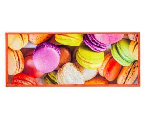 Alfombra de cocina mezcla Macarons tela - 60x110cm